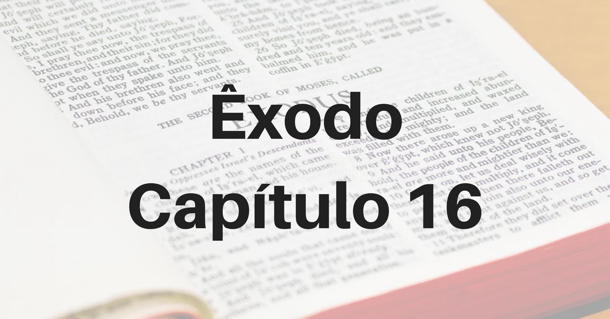 Êxodo Capítulo 16