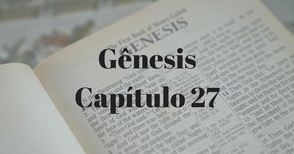 Gênesis Capítulo 27