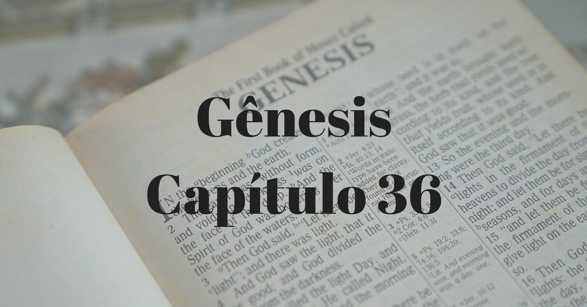 Gênesis Capítulo 36