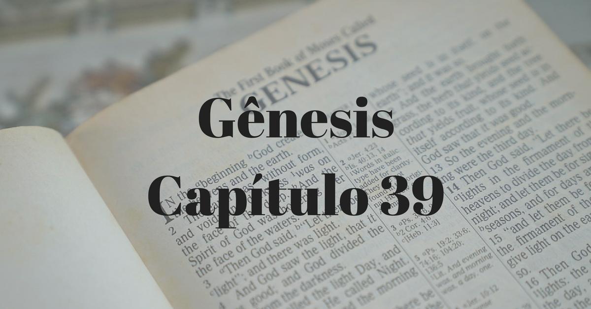 Gênesis Capítulo 39
