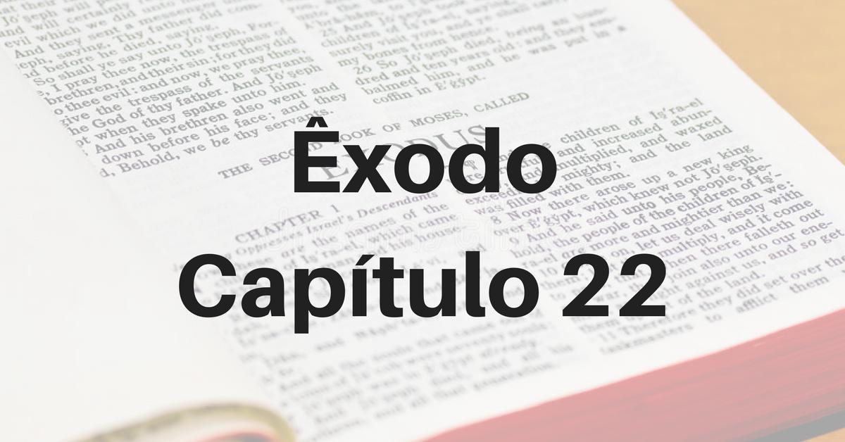 Êxodo Capítulo 22