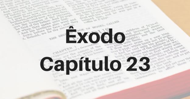 Êxodo Capítulo 23