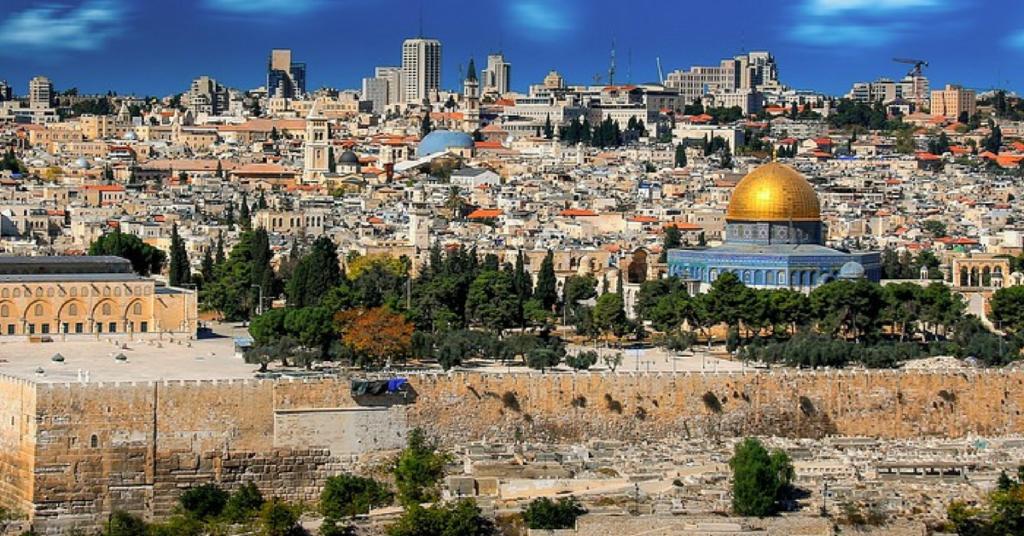 Jesus Chora por Jerusalém