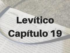 Levítico Capítulo 19