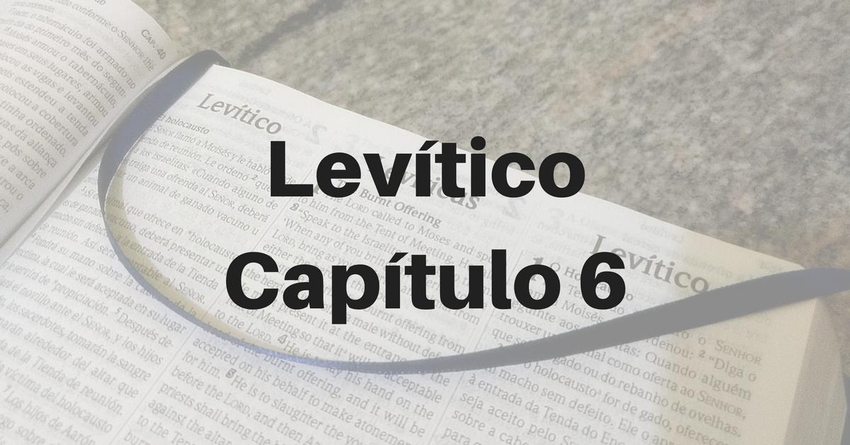Levítico Capítulo 6