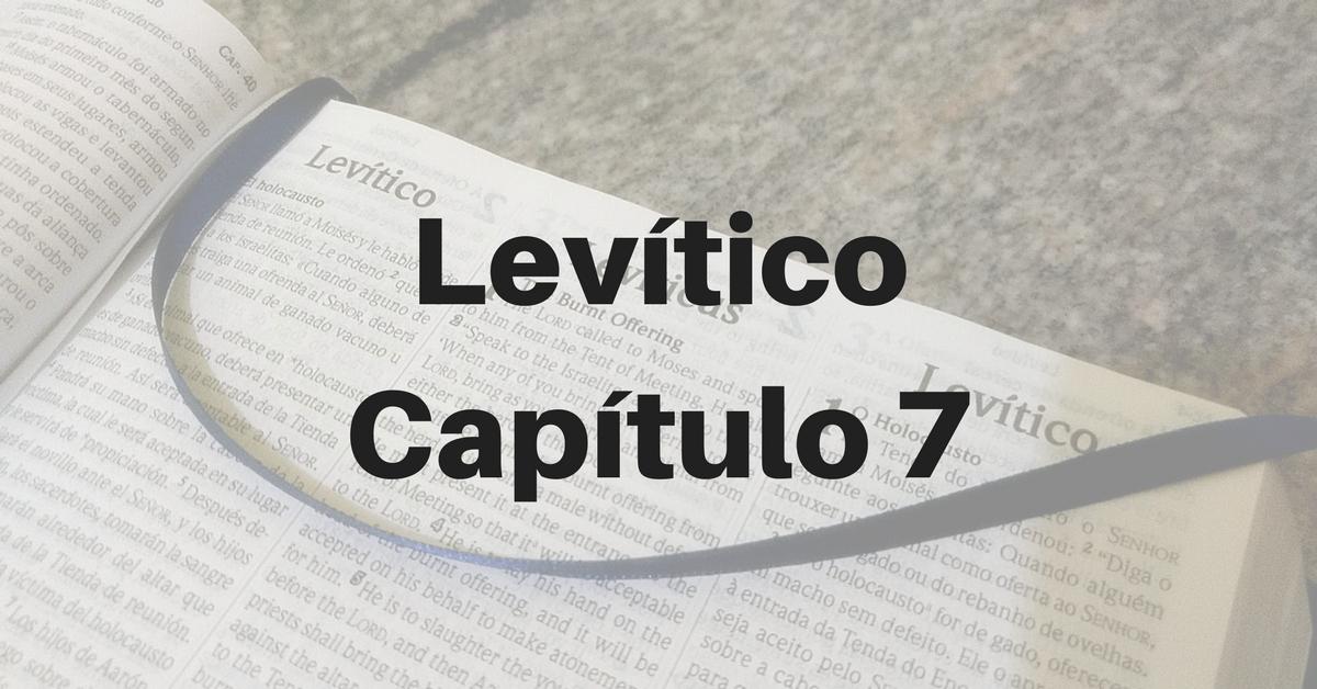 Levítico Capítulo 7