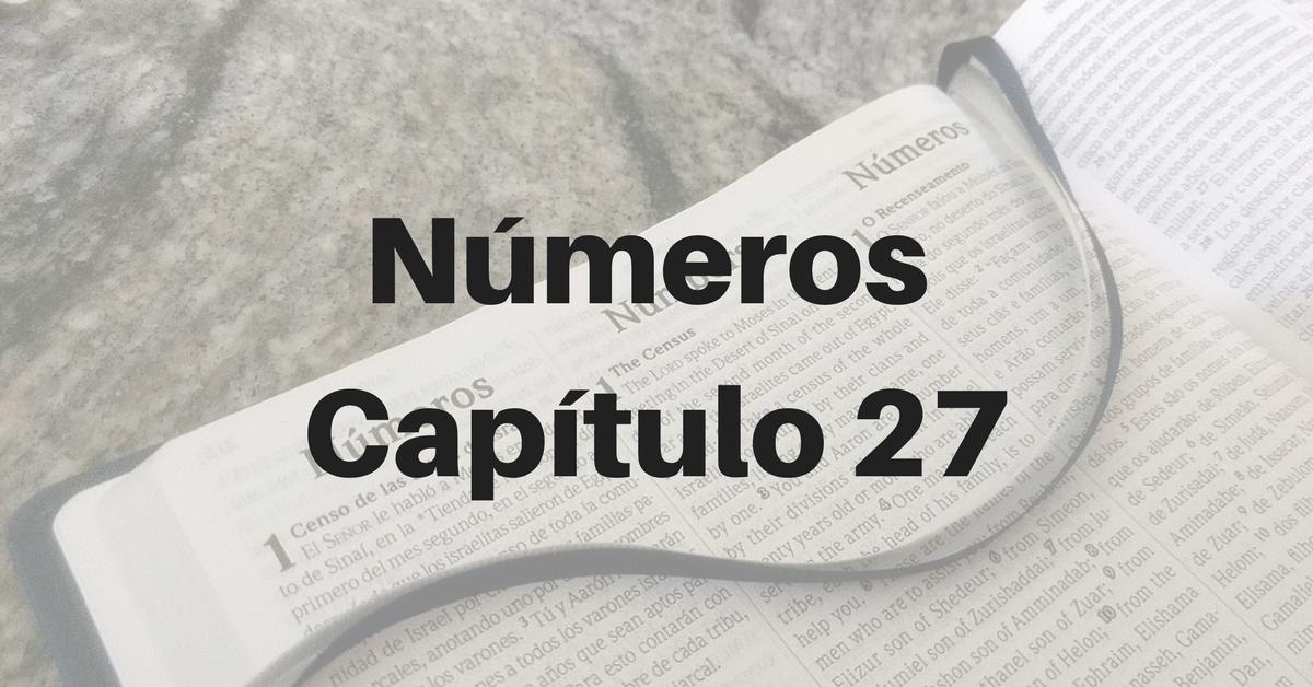 Números Capítulo 27