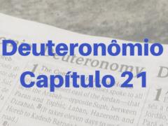 Deuteronômio Capítulo 21