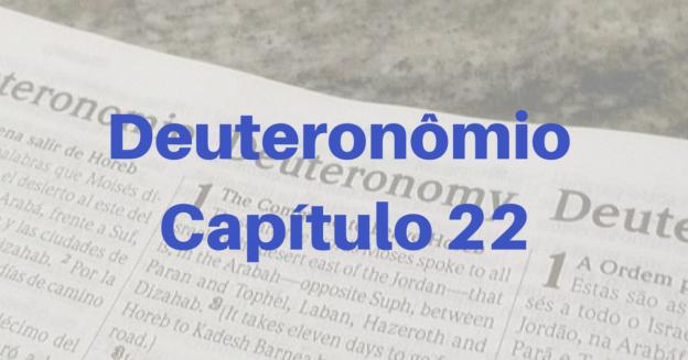 Deuteronômio Capítulo 22