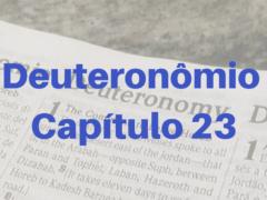 Deuteronômio Capítulo 23