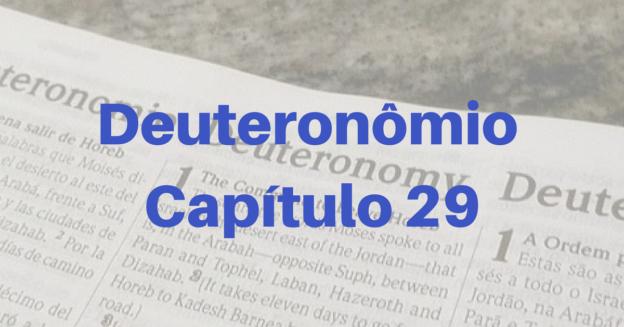 Deuteronômio Capítulo 29