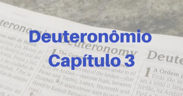 Deuteronômio Capítulo 3