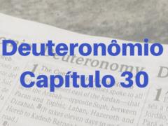 Deuteronômio Capítulo 30