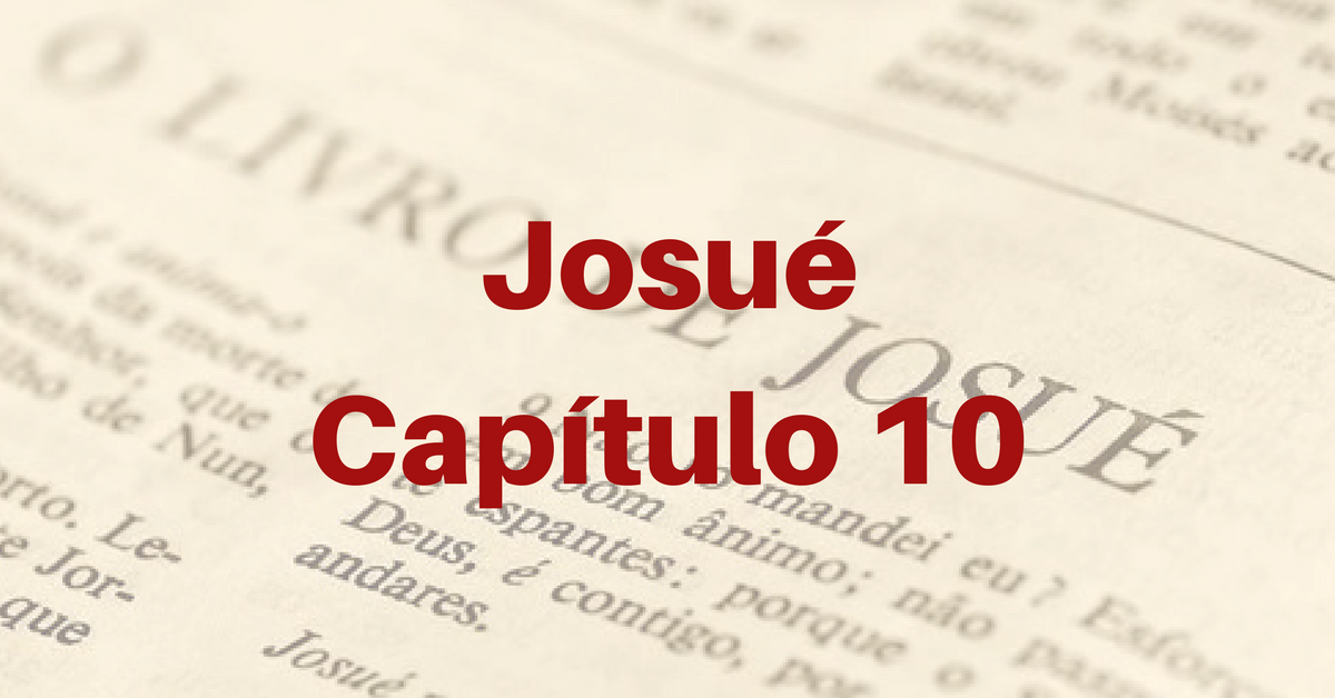 Josué Capítulo 10