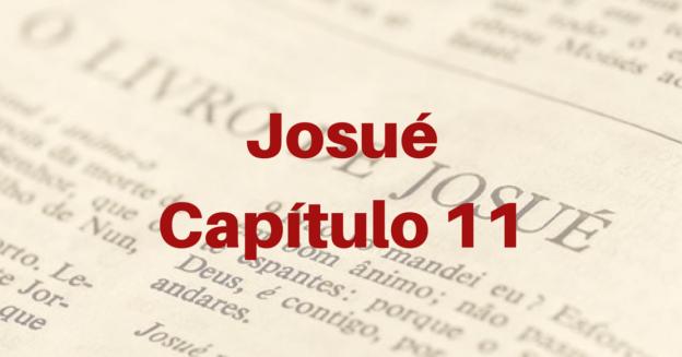 Josué Capítulo 11