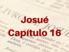Josué Capítulo 16
