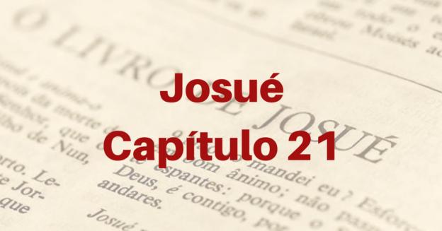 Josué Capítulo 21
