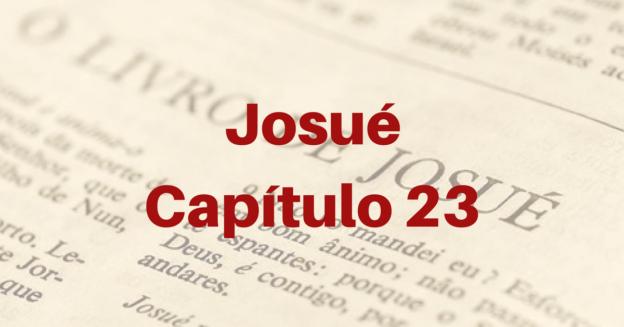 Josué Capítulo 23