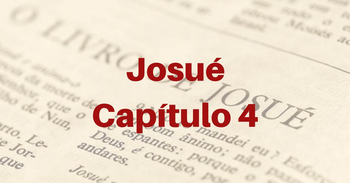 Josué Capítulo 4