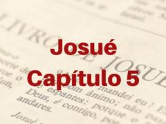 Josué Capítulo 5