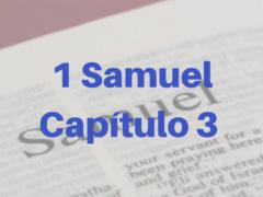 1 Samuel Capítulo 3