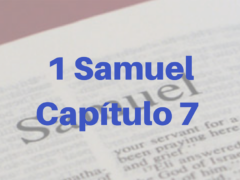 1 Samuel Capítulo 7