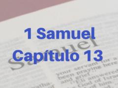 1 Samuel Capítulo 13