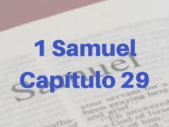 1 Samuel Capítulo 29