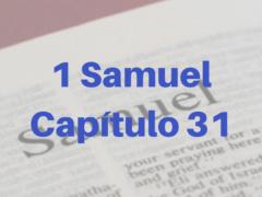 1 Samuel Capítulo 31