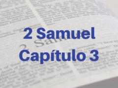 2 Samuel Capítulo 3