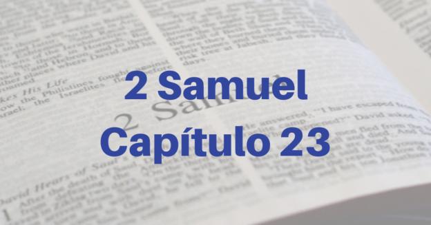 2 Samuel Capítulo 23