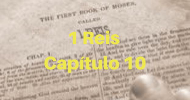 1 Reis Capítulo 10