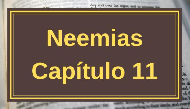 Neemias Capítulo 11