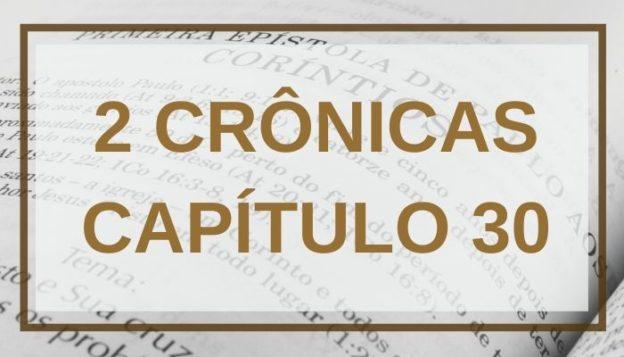 2 Crônicas Capítulo 30