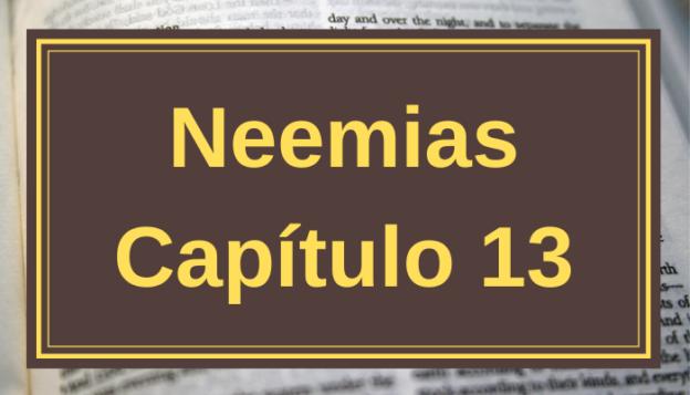 Neemias Capítulo 13