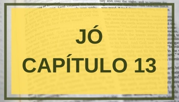 Jó Capítulo 13