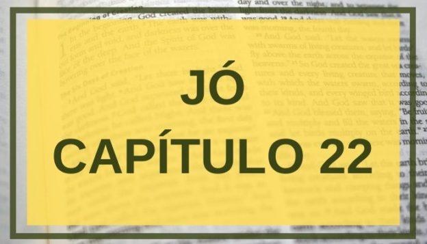 Jó Capítulo 22