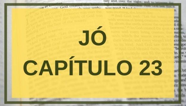 Jó Capítulo 23