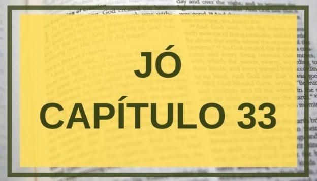 Jó Capítulo 33
