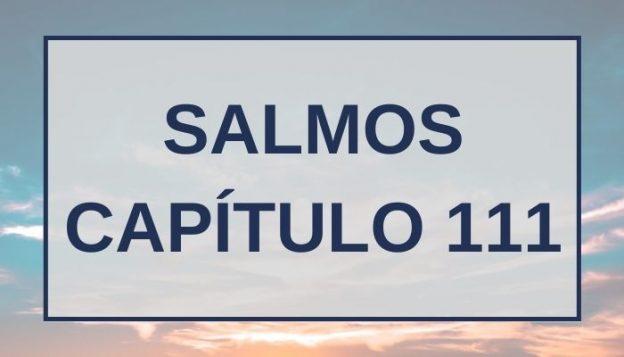 Salmos Capítulo 111
