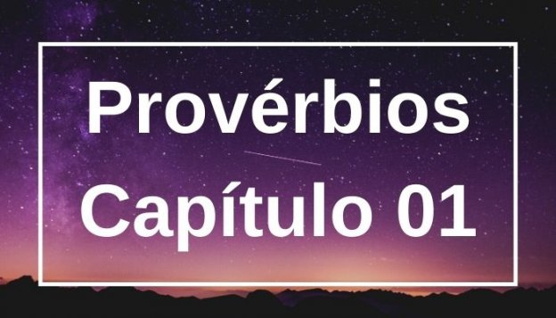 Provérbios Capítulo 01