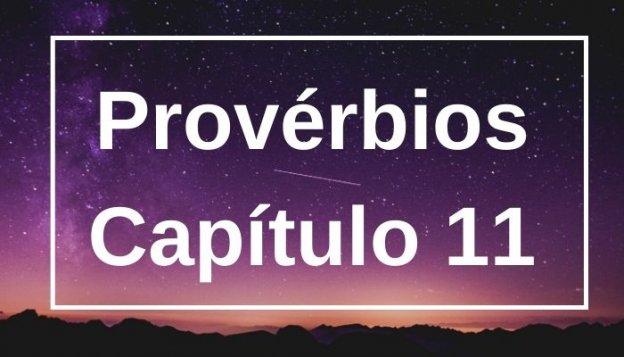 Provérbios Capítulo 11