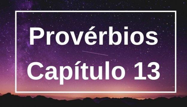 Provérbios Capítulo 13