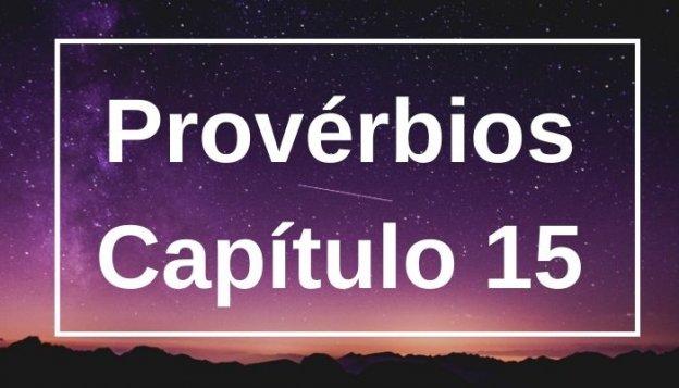 Provérbios Capítulo 15