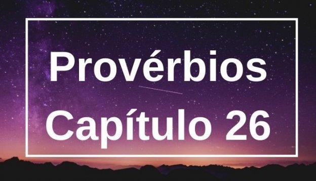 Provérbios Capítulo 26