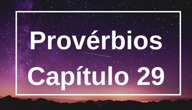 Provérbios Capítulo 29