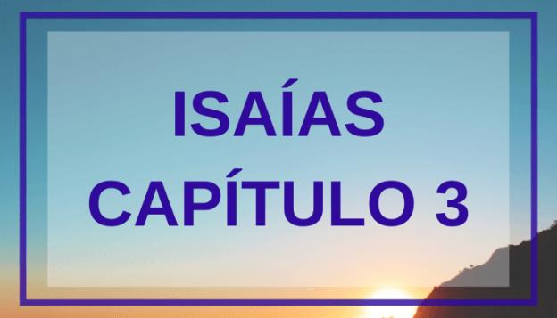 Isaías Capítulo 3